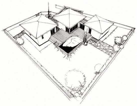mod le maison neuve mod le bambou 146 m maisons vertes constructeur de maisons. Black Bedroom Furniture Sets. Home Design Ideas